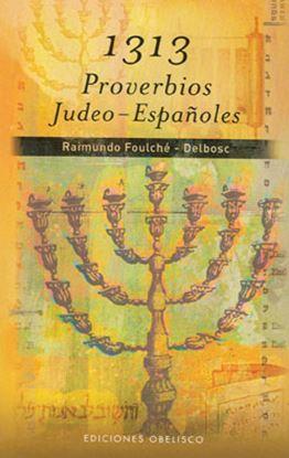 Imagen de 1313 PROVERBIOS JUDEO - ESPAÑOLES