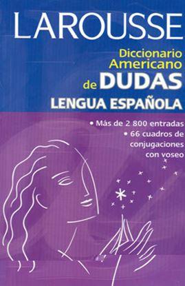 Imagen de DICC. AMERICANO DE DUDAS DE LA LENGUA ES