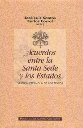 Imagen de ACUERDOS ENTRE LA SANTA SEDE Y LOS ESTAD
