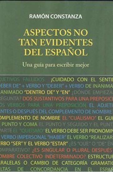 Imagen de ASPECTOS NO TAN EVIDENTES DEL ESPAÑOL