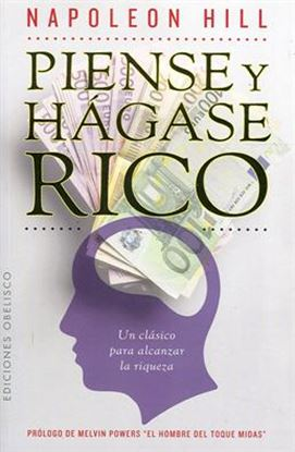 Imagen de PIENSE Y HAGASE RICO (OBELISCO)