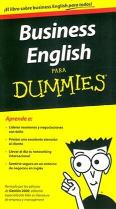 Imagen de BUSINESS ENGLISH PARA DUMMIES