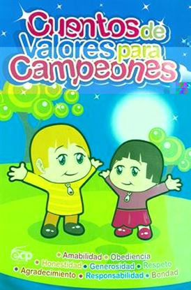 Imagen de CUENTOS DE VALORES PARA CAMPEONES 1