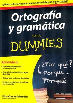 Imagen de GRAMATICA Y ORTOGRAFIA PARA DUMMIES