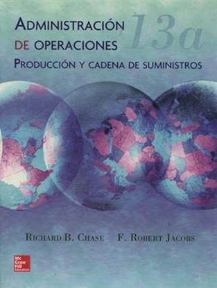 Imagen de ADMINISTRACION DE OPERACIONES 13.ED. (B)