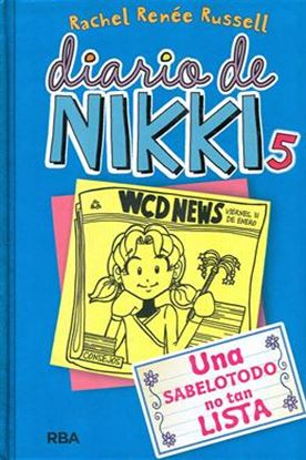 Imagen de DIARIO DE NIKKI 5. UNA SABELOTODO NO TAN