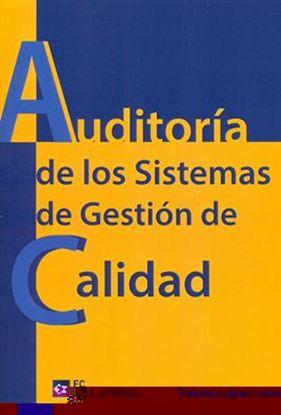 Imagen de AUDITORIA DE LOS SISTEMAS DE GESTION DE
