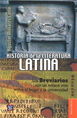 Imagen de HISTORIA DE LA LITERATURA LATINA