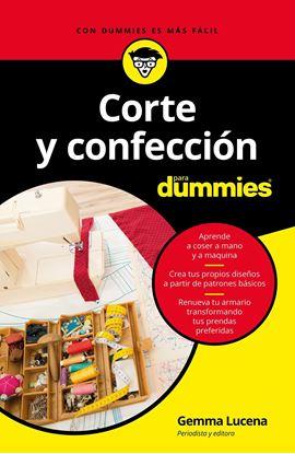 Imagen de CORTE Y CONFECCION PARA DUMMIES