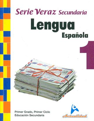 Imagen de LENGUA ESPAÑOLA SERIE VERAZ 1 (MEDIA)