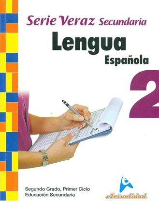 Imagen de LENGUA ESPAÑOLA SERIE VERAZ 2 (MEDIA)