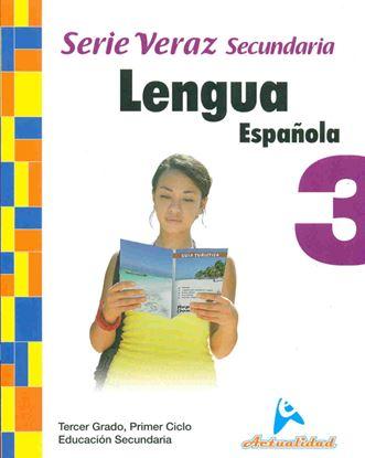 Imagen de LENGUA ESPAÑOLA SERIE VERAZ 3 (MEDIA)