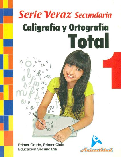Imagen de CAL. Y ORTOG. TOTAL SERIE VERAZ 1 (MEDIA