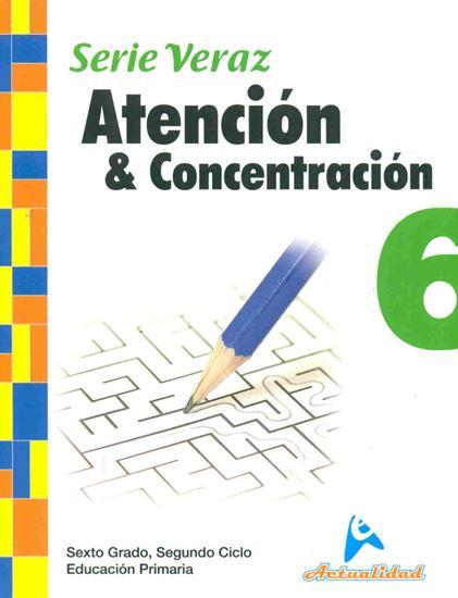 Imagen de ATENCION Y CONCENTRACION S/VERAZ 6 (B)