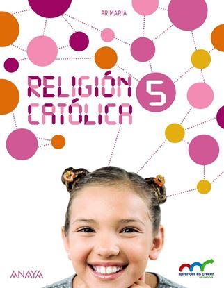 Imagen de RELIGION CATOLICA 5 (ANAYA)