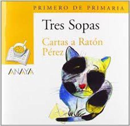 Imagen de CARTAS A RATON PEREZ-TRES SOPAS (ANAYA)+