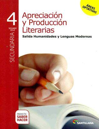 Imagen de APRECIACION Y PROD LIT L MODERNAS 4 SABE