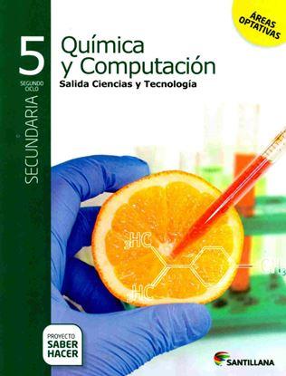 Imagen de QUIMICA Y COMPUTACION 5 SECUNDARIA SABER