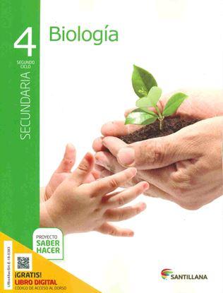 Imagen de PACK BIOLOGIA 4 SECUNDARIA SABER HACER