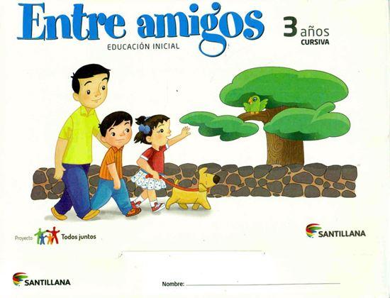 Imagen de CARPETA ENTRE AMIGOS 3 AÑOS