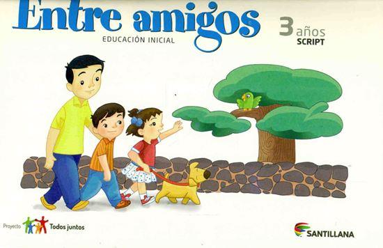 Imagen de CARPETA ENTRE AMIGOS 3 AÑOS SCRIPT