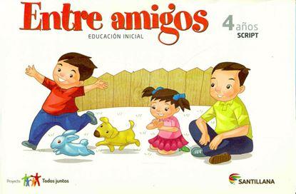 Imagen de CARPETA ENTRE AMIGOS 4 AÑOS SCRIPT