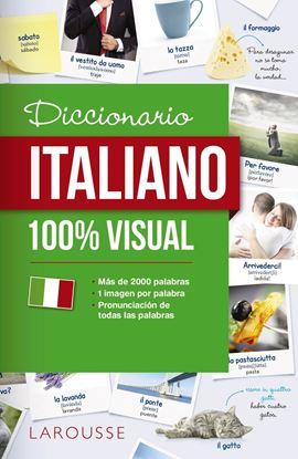 Imagen de DICCIONARIO ITALIANO 100% VISUAL
