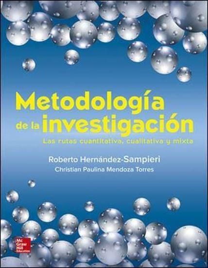 Imagen de METODOLOGIA DE LA INVESTIGACION. RUTAS C