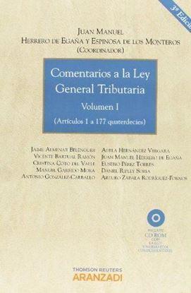 Imagen de COMENTARIOS A LA LEY GENERAL TRIBUTARIA