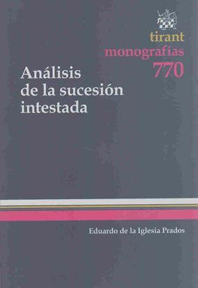 Imagen de ANALISIS DE LA SUCESION INTESTADA