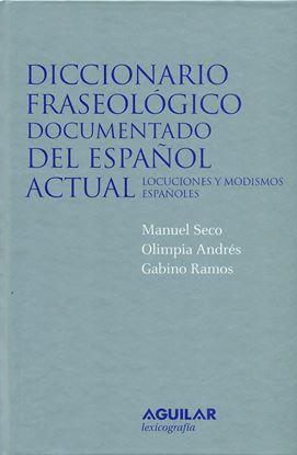 Imagen de DICCIONARIO FRASEOLOGICO DOCUMENTADO DEL
