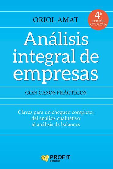 Imagen de ANALISIS INTEGRAL DE EMPRESAS
