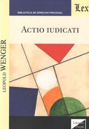 Imagen de ACTIO IUDICATI