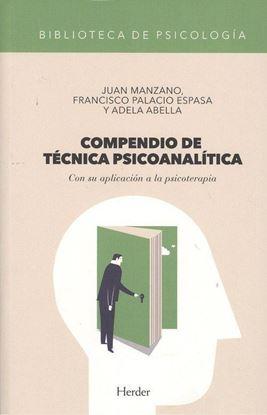 Imagen de COMPENDIO DE TECNICA PSICOANALITICA
