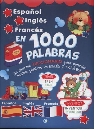 Imagen de DICCIONARIO ESPAÑOL-INGLES-FRANCES 1000