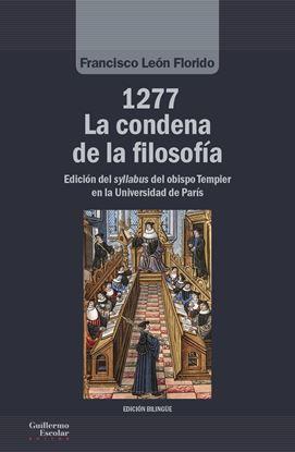 Imagen de 1277. LA CONDENA DE LA FILOSOFIA
