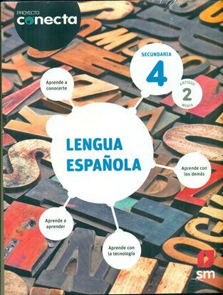Imagen de LENGUA ESPAÑOLA 4 CONECTA (SECUNDARIA)
