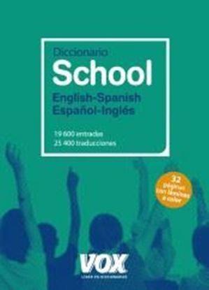 Imagen de DICCIONARIO SCHOOL ENGLISH-SPANISH / ESP