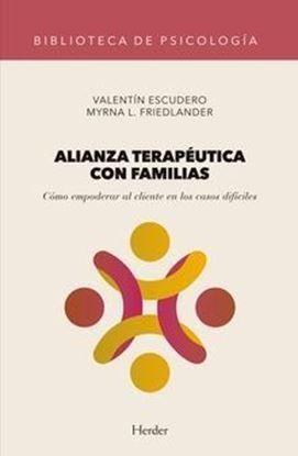Imagen de ALIANZA TERAPEUTICA CON FAMILIAS