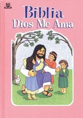 Imagen de BIBLIA DIOS ME AMA (ROSA) TD