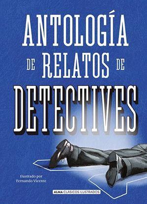 Imagen de ANTOLOGIA RELATOS DETECTIVES (CLASICOS A