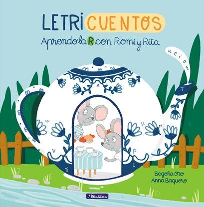 Imagen de LETRICUENTOS. APRENDO LA R CON ROMI Y RI